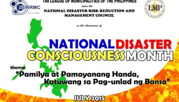 National Disaster Risk Reduction Month 2016