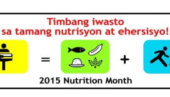 2016 Nutrition Month