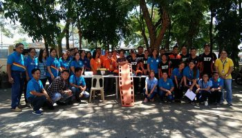 SDO San Carlos City conducts NSED and Simulation of Fire Rescue Operation