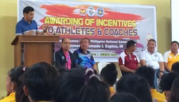 Provincial Government of Pangasinan recognizes San Carlenian athletes, coaches