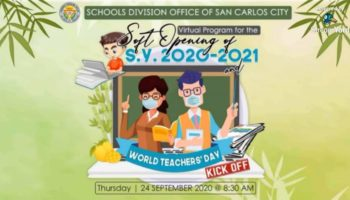 VIRTUAL  SOFT OPENING OF SY 2020-2021 CONDUCTED AT SDO-SCC