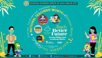 SDO SCC CONDUCTS VIRTUAL CULMINATING PROGRAM FOR NATIONAL TEACHER'S MONTH / DIVISION WORLD TEACHER'S DAY CELEBRATION